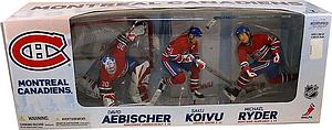 NHL Sportspicks Box Set 3-Pack Seriess David Aebischer/Saku Koivu/Michael Ryder