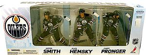 NHL Sportspicks Box Set 3-Pack Series Edmonton Oilers Jason Smith/Ales Hemsky/Chris Pronger