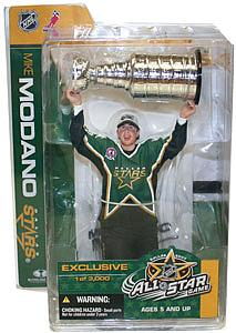 NHL Sportspicks All-Star Game (Dallas 2007) Series Mike Modano (Dallas Stars) Green Jersey Exclusive