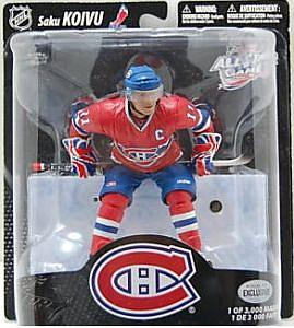 NHL Sportspicks All-Star Game (Montreal 2009) Series Saku Koivu (Montreal Canadiens) Red Jersey Exclusive