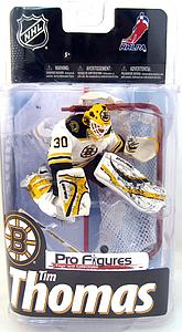 NHL Sportspicks Series 24 Tim Thomas (Boston Bruins) White Jersey Exclusive