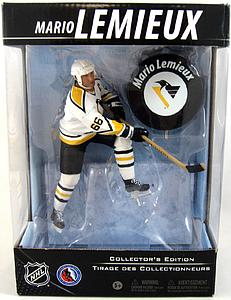NHL Sportspicks Canadian Tire Series Mario Lemieux with Puck (Pittsburgh Penguins) White Jersey Exclusive