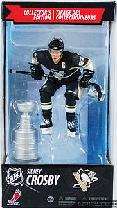 NHL Sportspicks Canadian Tire Series Sidney Crosby with Stanley Cup (Pittsburgh Penguins) Black Jersey Exclusive