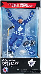 NHL Sportspicks Canadian Tire Series Wendel Clark Hat Trick (Toronto Maple Leafs) Blue Jersey Exclusive