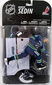 NHL Sportspicks Grosnor Series Henrik Sedin (Vancouver Canucks) Blue Jersey Exclusive (Alternate Barcode)