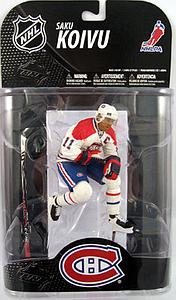 NHL Sportspicks Grosnor Series Saku Koivu (Montreal Canadiens) White Jersey Exclusive