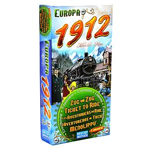 Ticket to Ride: Europa 1912 (Multilingual)