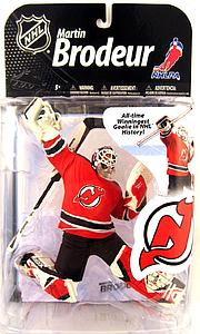 NHL Sportspicks Series 22 Martin Brodeur (New Jersey Devils) Red Jersey