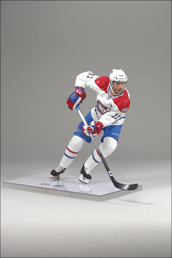 NHL Sportspicks Series 22 Saku Koivu (Montreal Canadiens) White Jersey