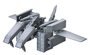 Gundam High Grade Build Custom 1/144 Scale Model Kit: #022 Ballden Arm Arms (Build Fighters Support Unit)
