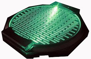 Gundam Action Base Lightning Base Plate Type: Green Version
