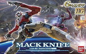 Gundam High Grade Reconguista in G 1/144 Scale Model Kit: #10 Mack Knife (Mask Custom)