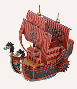 One Piece Grand Ship Collection Model Kit: #06 Nine Snake (Kuja Pirate) Ship