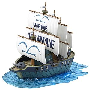 One Piece Grand Ship Collection Model Kit: Marine Ship