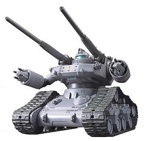 Gundam High Grade Gundam The Origin 1/144 Scale Model Kit: #002 RTX-65 Guntank Early Type