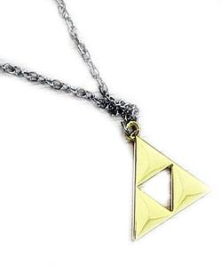 Zelda Necklace Triforce Gold