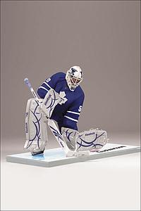 NHL Sportspicks Series 24 Jonas Gustavsson (Toronto Maple Leafs) Blue Jersey