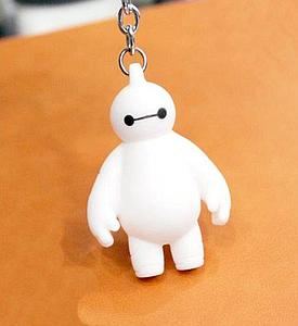 Big Hero 6 Keychain Baymax Figure