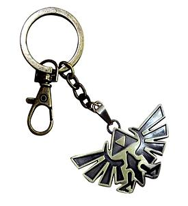 Legend of Zelda Keychain Eagle-Triforce Black/Gold