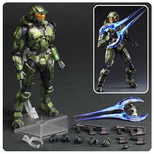 Square Enix Halo 2 Play Arts Kai: Master Chief ...