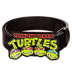 Teenage Mutant Ninja Turtles Belt Logo with Heads