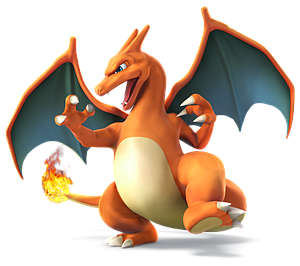 Nintendo Super Smash Bros. Amiibo Mini Figure: Charizard