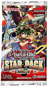 YuGiOh Trading Card Game ARC-V: Booster Pack