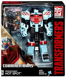 Transformers Generations Combiner Wars Voyager Class: Hot Spot (Protectobot)