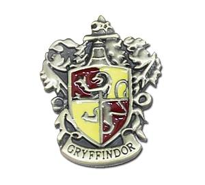 Harry Potter Pin Gryffindor Crest