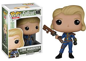 Pop! Games Fallout Vinyl Figure Lone Wanderer Female #48 (Retired)
