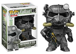 Pop! Games Fallout Vinyl Figure Power Armor (Brotherhood of Steel) #49 (Retired)
