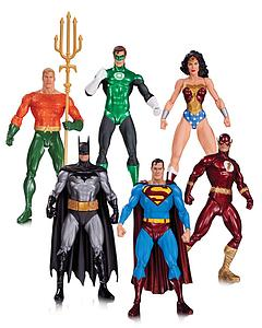 DC Justice League 6-Pack Alex Ross