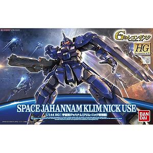 Gundam High Grade Reconguista in G 1/144 Scale Model Kit: #7 Space Jahannam Klim Nick Use