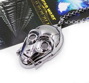 Star Wars Necklace C-3PO Chrome