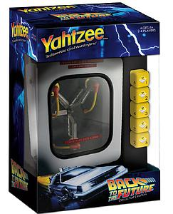 Yahtzee: Back to the Future Flux Capacitor Edition