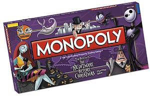 Monopoly: Tim Burton's The Nightmare Before Christmas Collector's Edition