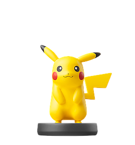Nintendo Super Smash Bros. Amiibo Mini Figure: Pikachu
