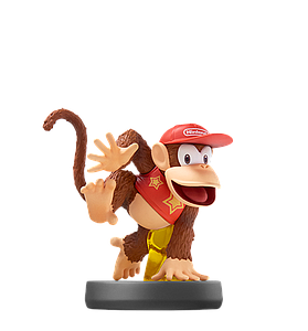 Nintendo Super Smash Bros. Amiibo Mini Figure: Diddy Kong