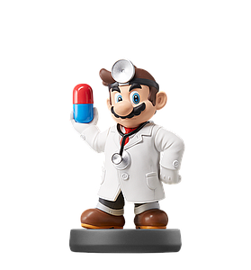 Nintendo Super Smash Bros. Amiibo Mini Figure: Dr. Mario