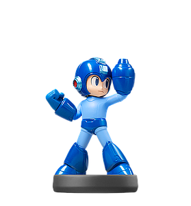 Nintendo Super Smash Bros. Amiibo Mini Figure: Mega Man