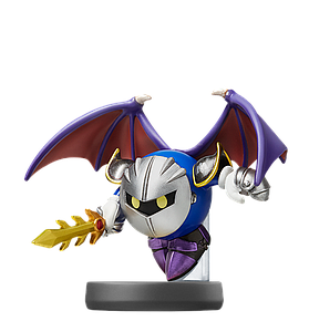 Nintendo Super Smash Bros. Amiibo Mini Figure: Meta Knight
