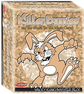 Killer Bunnies and the Quest for the Magic Carrot: Wacky Khaki Booster Deck