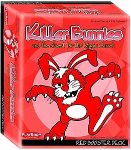 Killer Bunnies & the Quest for the Magic Carrot: Red Booster Deck
