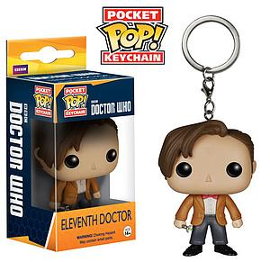 Pop! Pocket Keychain Doctor Who Vinyl Figure Eleventh Doctor (Retired)