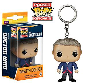 Pop! Pocket Keychain Doctor Who Vinyl Figure Twelfth Doctor