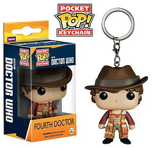 Pop! Pocket Keychain Doctor Who Vinyl Figure Fourth Doctor (Retired)