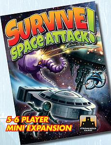 Survive: Space Attack! 5-6 Player Mini Expansion
