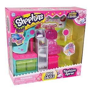 Shopkins Playsets Season 3 Fashion Spree Shoe Dazzle