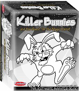 Killer Bunnies & the Quest for the Magic Carrot: Twilight White Booster Deck