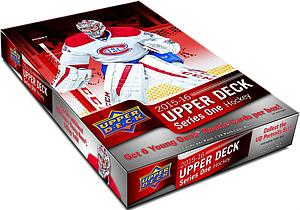 2015-16 Upper Deck Series One Hobby Box